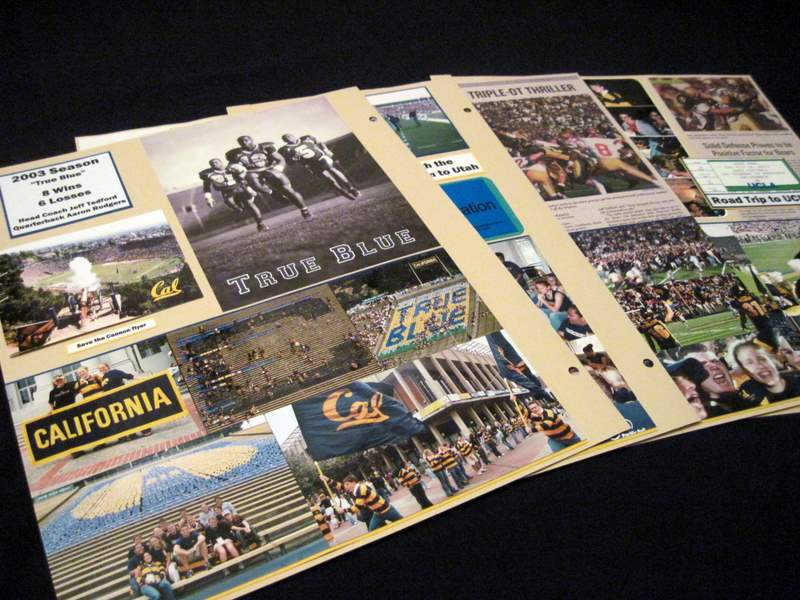 scrapbook layout football pages in detail almost never clever