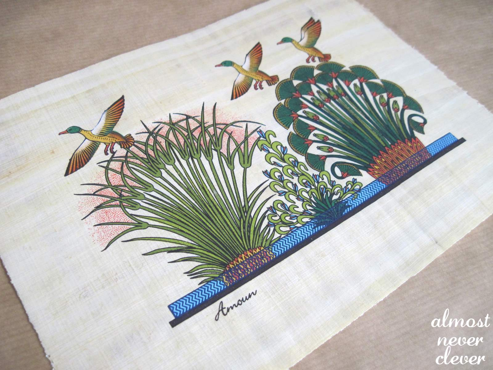 Papyrus Plant Drawing Papyrus Drawing