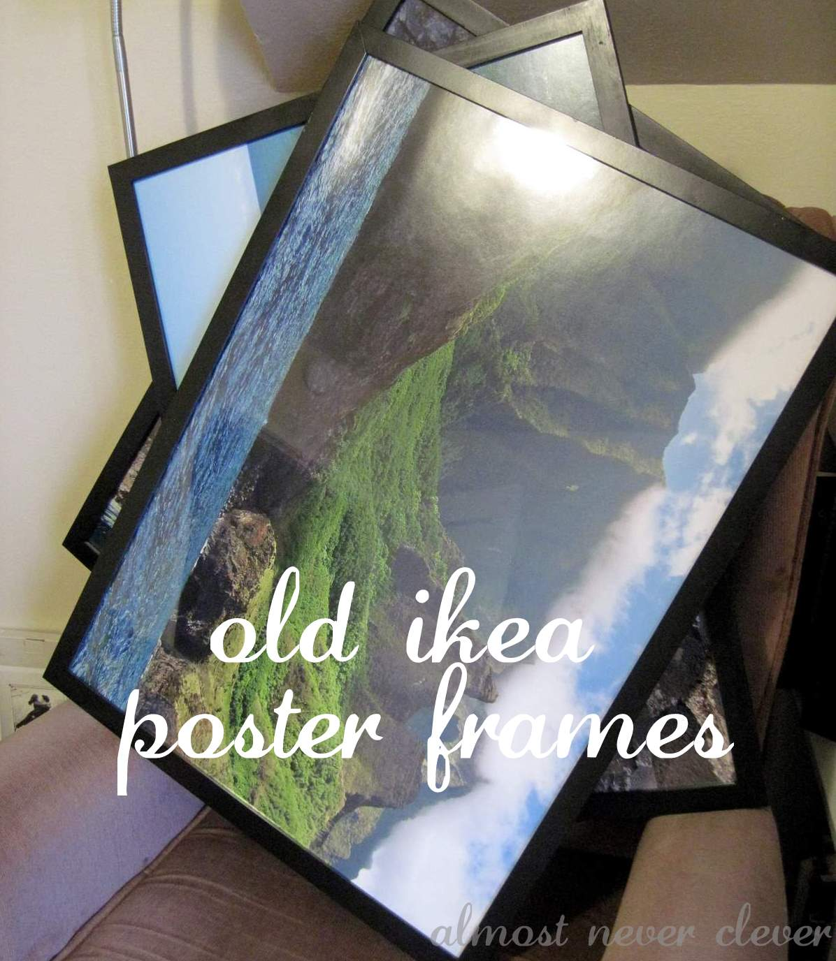 The Modern Collage Frame | Almost Never Clever
