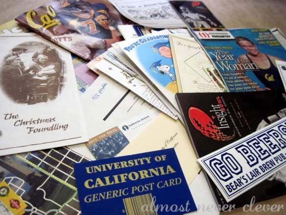 Scrapbook keepsakes