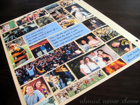 Scrapbook layout the last layout almost never clever college scrapbook page pronofoot35fo Image collections