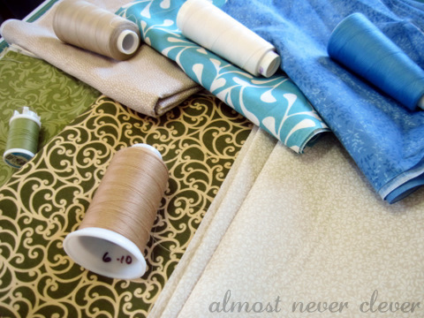Sewing cloth napkins