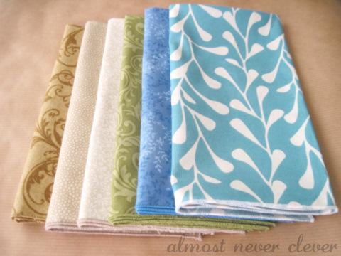 New cloth napkins.
