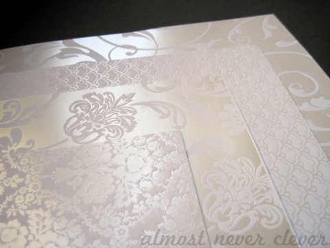 Wedding Scrapbook Paper
