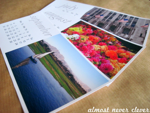 2012 desk calendar with free printable template almost never clever