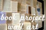 Book Project Wall Art