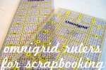 Omnigrid Rulers for Scrapbooking