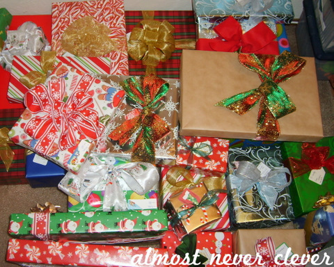 The Gift Wrap Division of Labor | Almost Never Clever