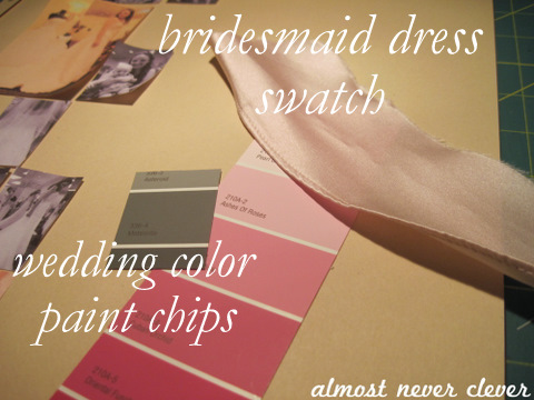 Wedding Dress Shopping Scrapbook