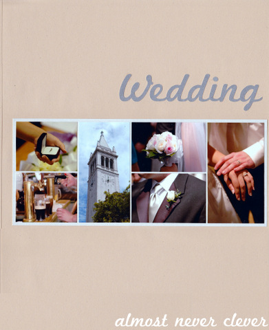 Wedding Scrapbook Division Page