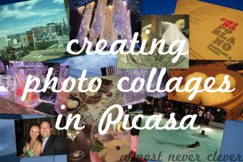 creating photo collages in picasa almost never clever
