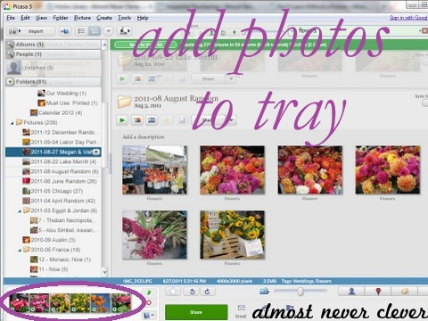 How to Create Picasa Photo Collages