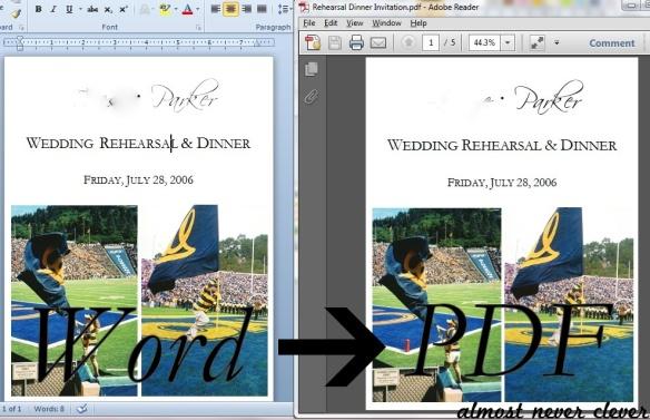 Create PDF's for free