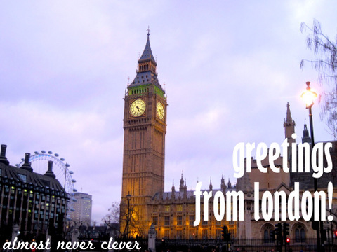 Photographing London