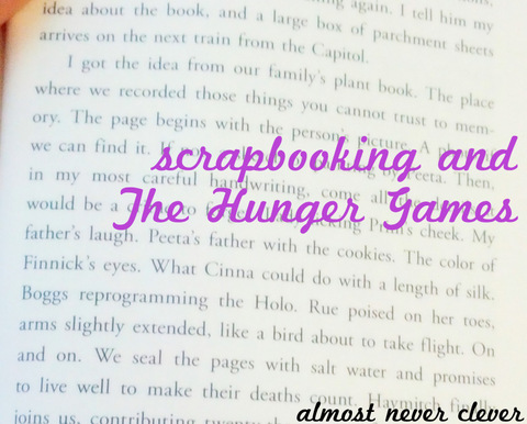 The Hunger Games Scrapbook Mockingjay