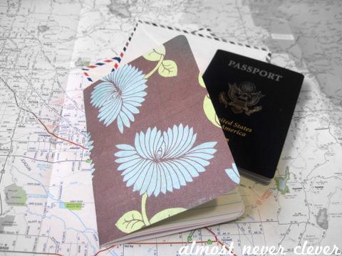 Homemade Travel Journal
