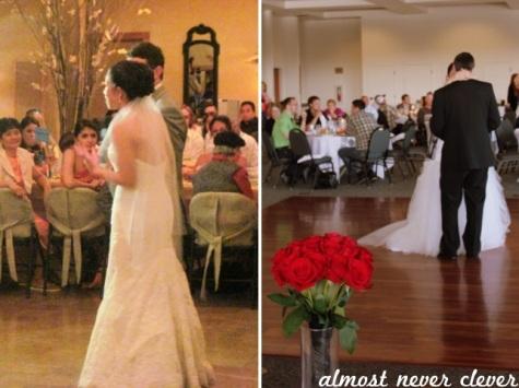 Two weddings.