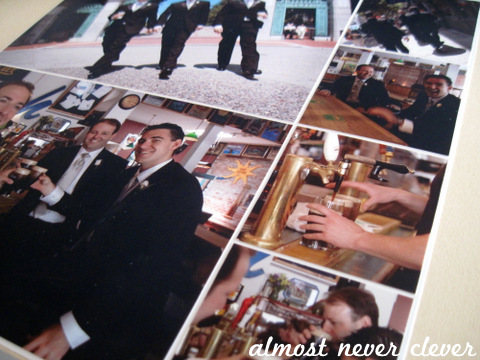 Wedding Scrapbook Groomsmen