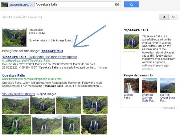 Google Image Landmark Search