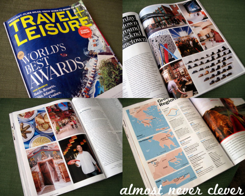 Travel Magazine Scrapbook Inspiration