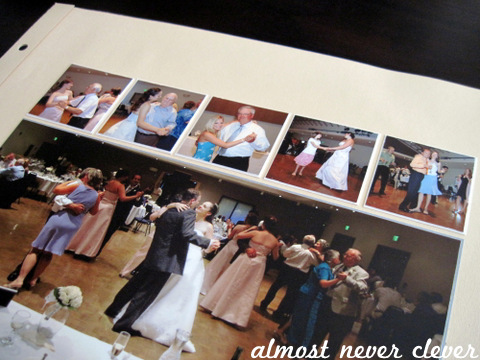 Wedding Scrapbook Dancing Layout