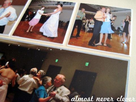 Wedding Scrapbook Dancing Layout