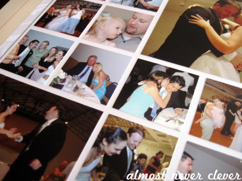 Wedding Scrapbook Reception Layout