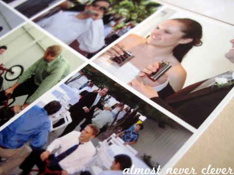 Wedding Scrapbook Shenanigans Layout
