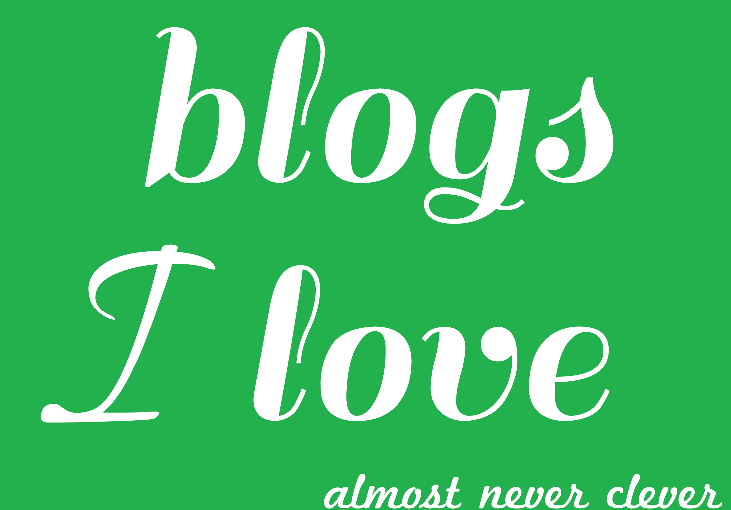 Scrapbooking Blogs Almost Never Clever