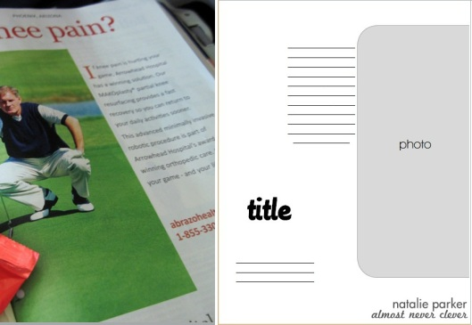 Magazine Scrapbook Inspiration
