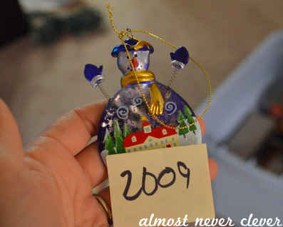 Documenting Christmas Ornaments 2