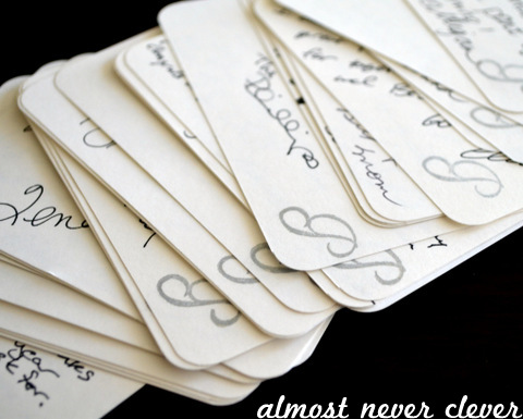 Guest Book Cards By Almost Never Clever