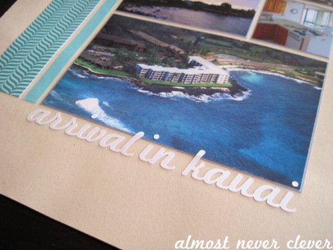 Kauai Honeymoon Layout by Almost Never Clever 2