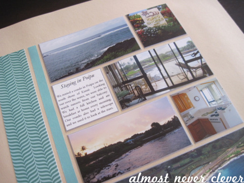 Kauai Honeymoon Layout by Almost Never Clever 4