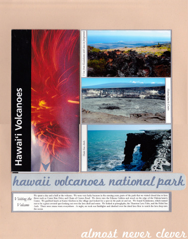 Volcano Layout by Natalie Parker 9