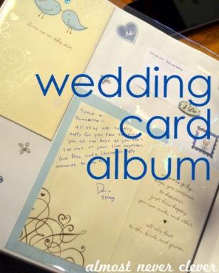 Wedding Card Album by Natalie Parker