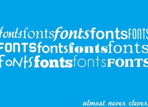 Font Organization