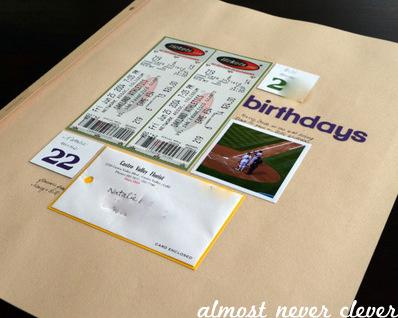 Birthdays Scrapbook Layout by Natalie Parker