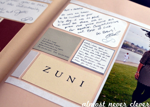 7th Anniversary Scrapbook Layout by Natalie Parker