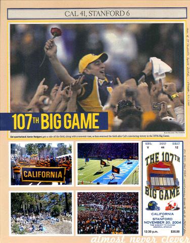 Big Game Football Scrapbook Layout by Natalie Parker
