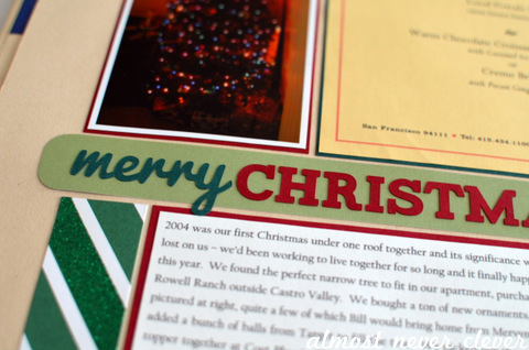Christmas Scrapbook by Natalie Parker