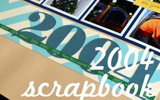 2004 Scrapbook Button