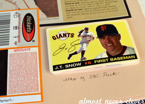 Baseball Scrapbook Layouts by Natalie Parker