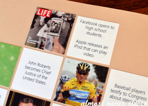 Scrapbook Layout Current Events Almost Never Clever
