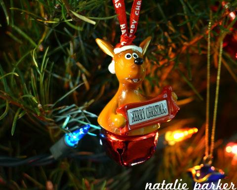 Kangaroo Ornament by Natalie Parker