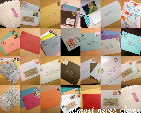 Sending Mail by Natalie Parker