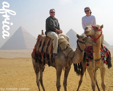 Giza Pyramids, Egypt by Natalie Parker