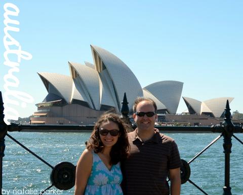 Sydney Opera House, Australia by Natalie Parker