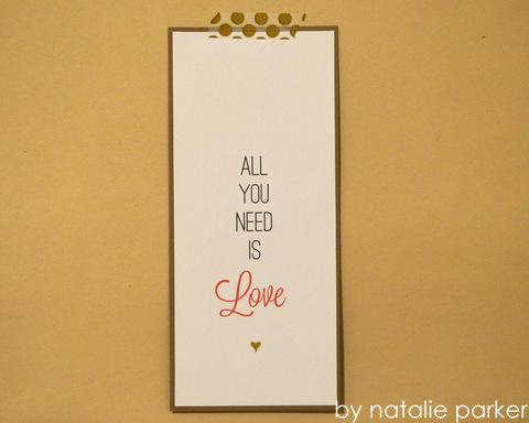 Valentines by Natalie Parker