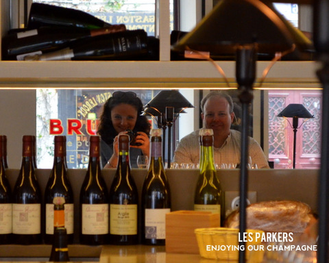 Parkers at a Champagne bar by Natalie Parker